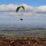 Hang gliding over Slievebawn